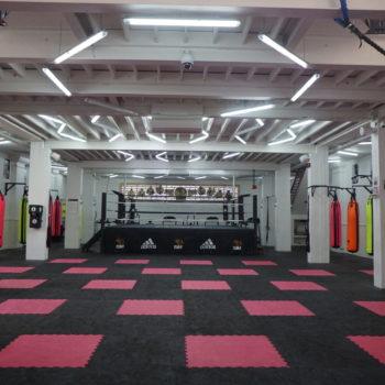 Salle n°1 avec ring de Boxe - Naja Team