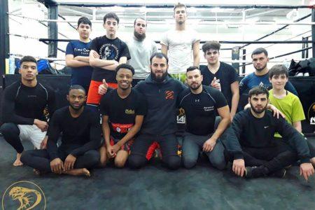 Cours collectifs de lutte - Naja Team