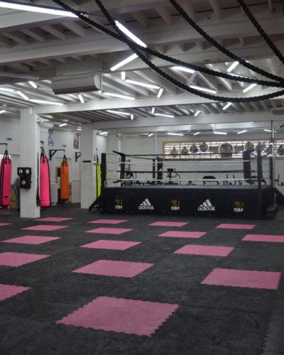 Salle de sports de combat